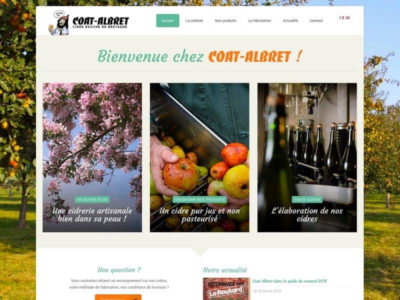 Site web Coat Albret