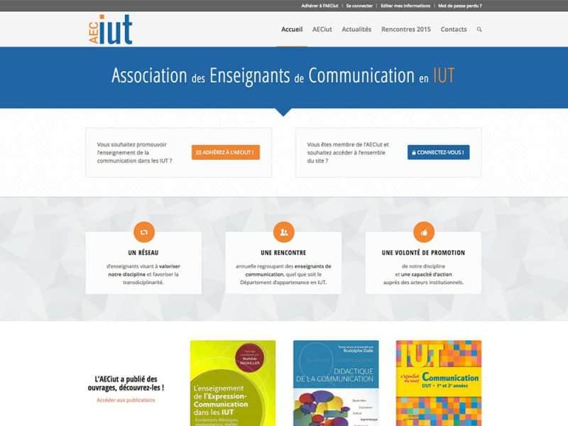 Site web AECiut
