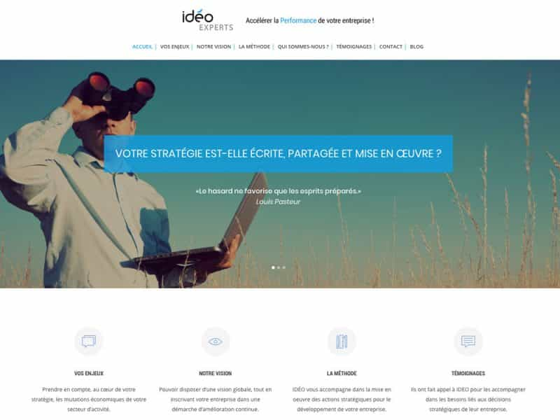 Site web Ideo Experts