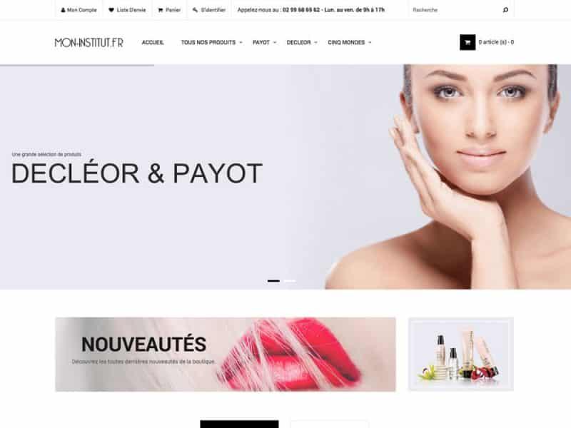 Site web Mon Institut