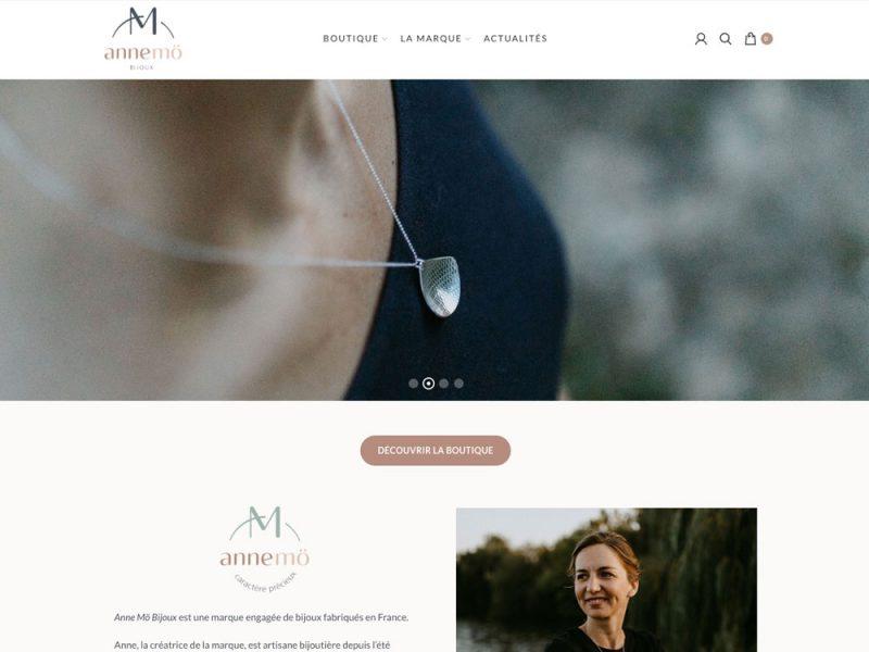 AnneMö Bijoux - site web