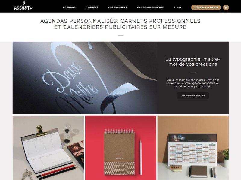 Vachon Agendas - site web