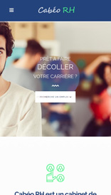 Cabeo RH - site web vue mobile